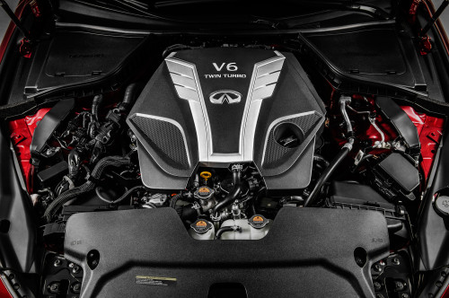 Infiniti Q50 V6 turbos spin at up to 220k rpm