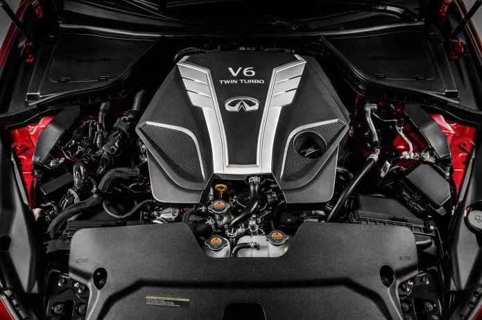 Infiniti Q50 V6 turbos spin at up to 220k rpm