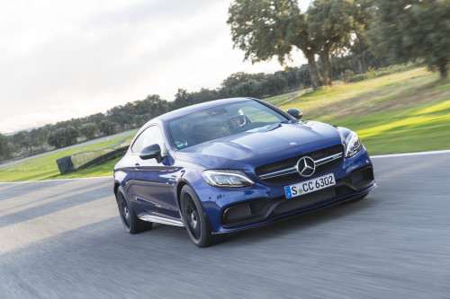 2017 Mercedes-AMG C63 S first-drive