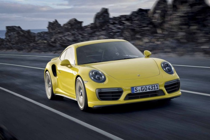 2017 Porsche 911 Turbo S makes 580hp and 553 lb-ft of torque