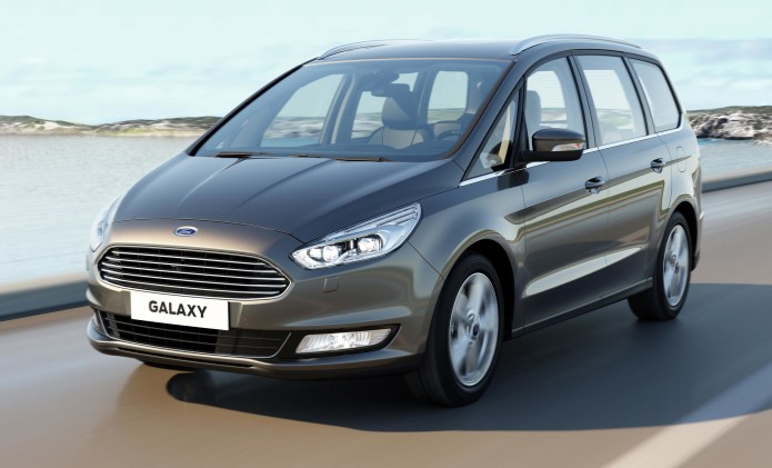 Ford Galaxy review : Seven-seater MPV has lots of technology and space