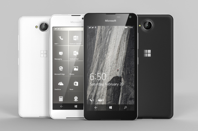 Lumia 650 might be a low-end phone with a surprising metal body