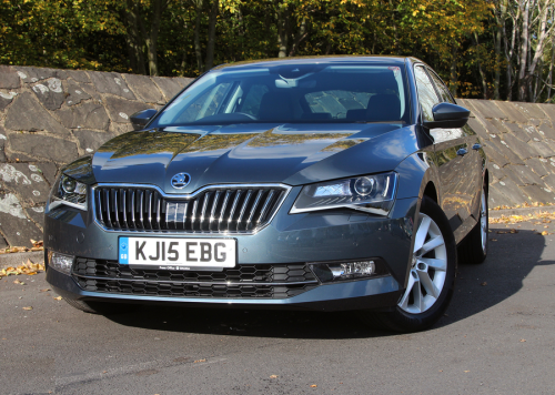 Skoda Superb 2.0 TDi SE Business review: At the business end
