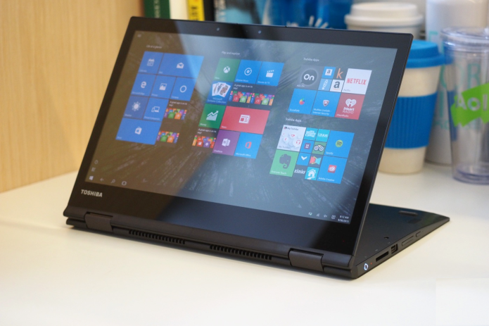 Toshiba Radius 12 review: A 4K laptop with compromises