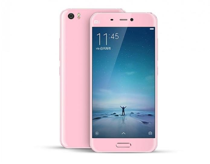 Xiaomi Mi5 renders leak showing pink version