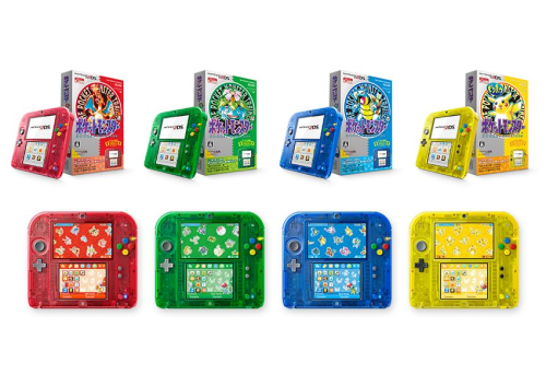 Nintendo 2DS arrives in Japan with limited-edition Pokemon colors