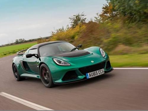 Lotus Exige Sport 350 gets lighter and faster