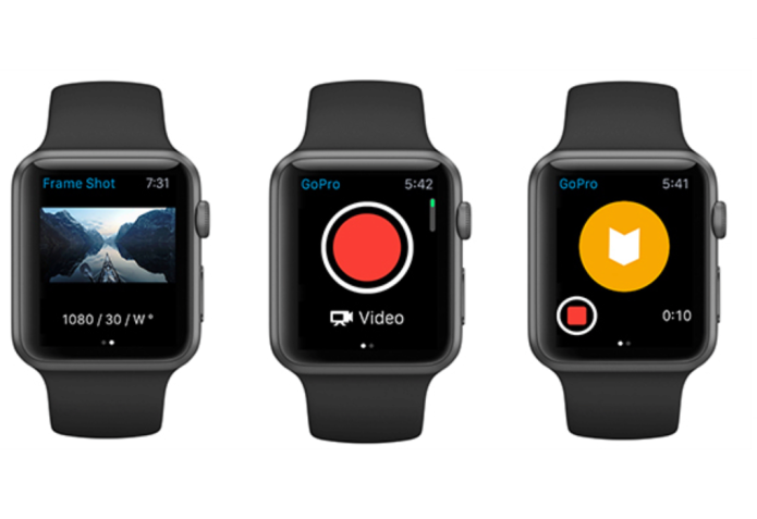 GoPro Apple Watch app lets users control recording from the wrist