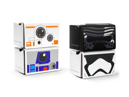 Google's giving away Star Wars Cardboard VR headsets