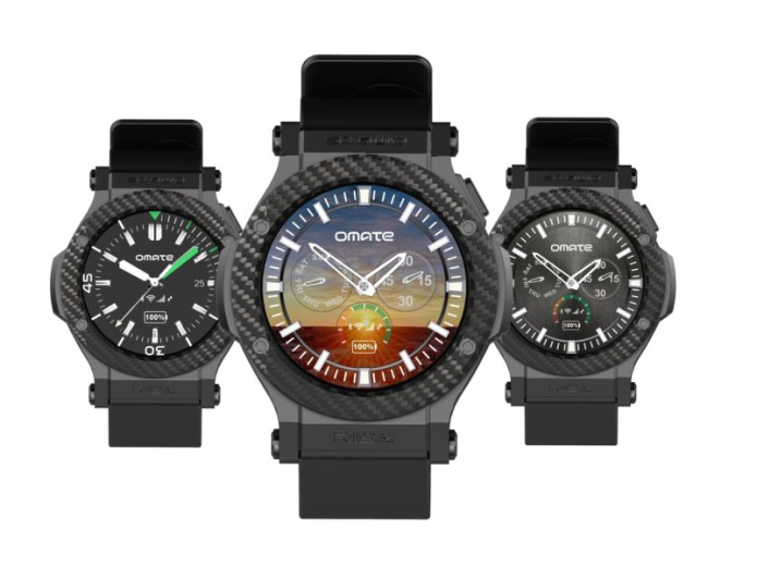 Omate Rise is the latest 3G-compatible Android smartwatch