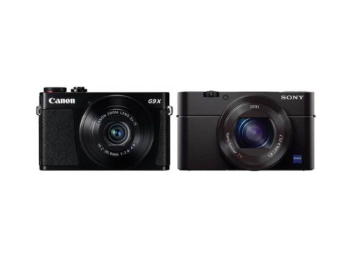 Canon G9 X vs Sony RX100 III Specifications Comparison