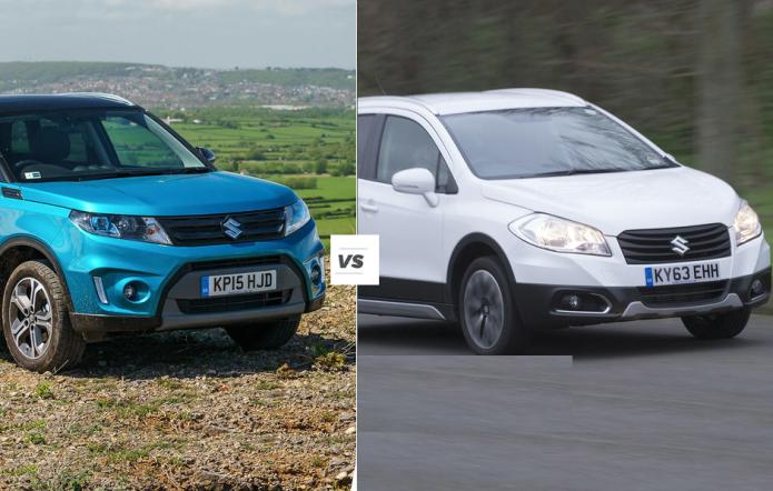 Suzuki Vitara vs SX4 S-Cross: SUV siblings