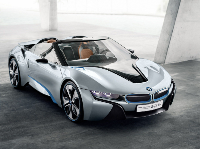 BMW i8 Spyder greenlit says BMW CEO