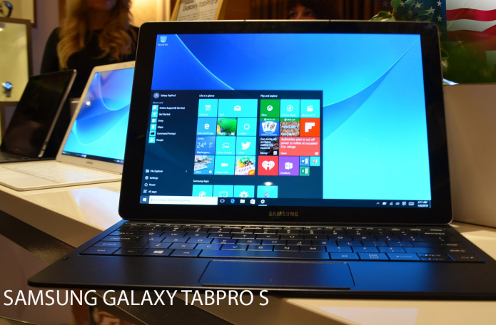 Samsung Galaxy TabPro S review: Hands-on with another Surface rival with Window 10