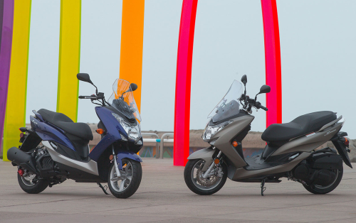 2015 Yamaha Smax Scooter First Ride Review