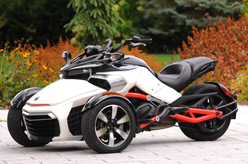 2015 Can-Am Spyder F3 First Ride Review