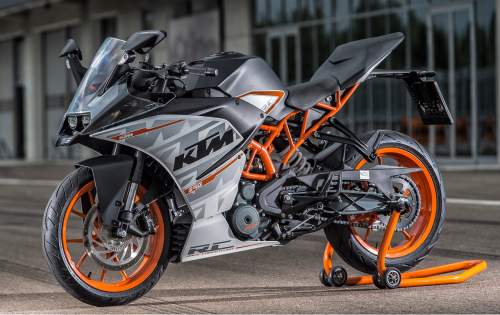 2015 KTM RC390 First Ride Review