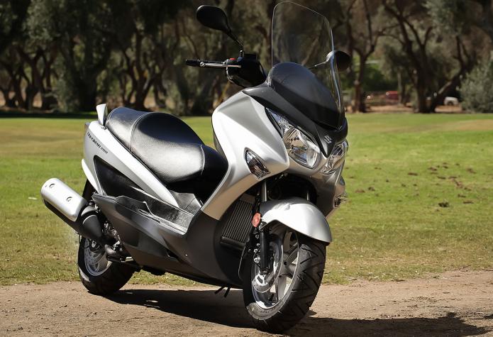 2014 Suzuki Burgman 200 First Ride Review