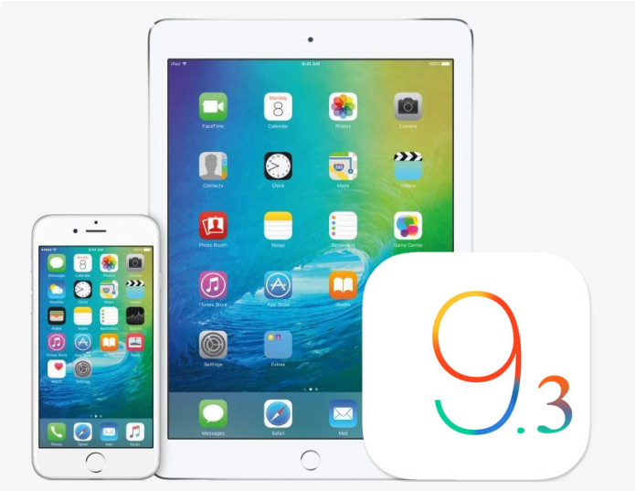 What's new in iOS 9.3?