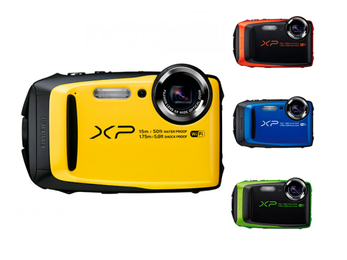 Fujifilm FinePix XP90 is waterproof to 50-feet