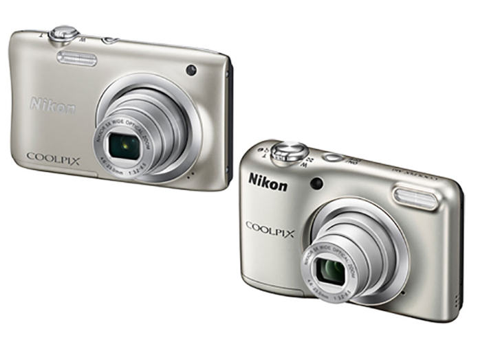 Nikon Coolpix A100 and A10 cameras pack 5x optical zoom and slim bodies