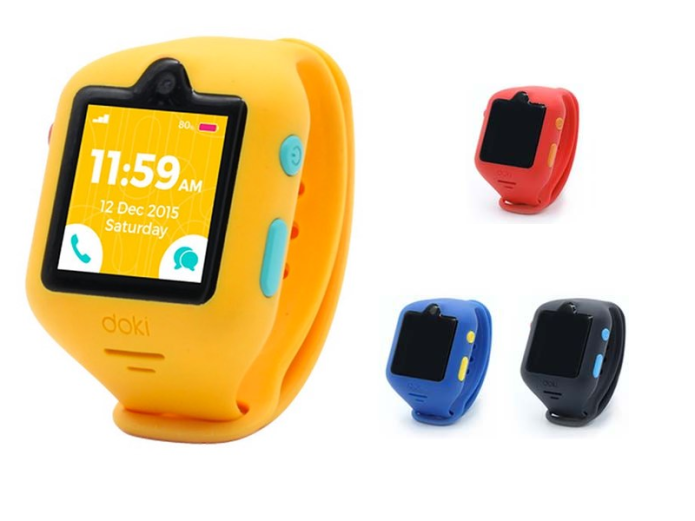 dokiWatch is an advanced smartwatch for kids