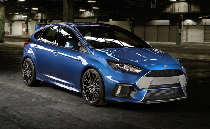 The first 2016 Ford Focus RS is ready (and we can't wait)
