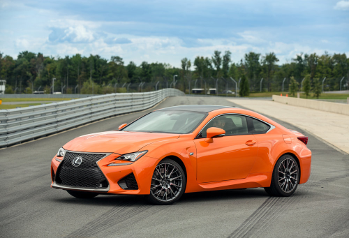Orange is the new F (Sport)