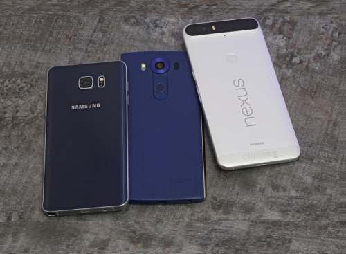 Nexus 6P vs. LG V10 vs. Galaxy Note5 Comparison Review
