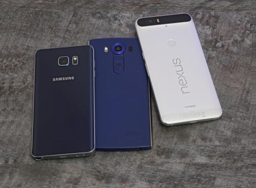 Nexus 6P vs. LG V10 vs. Galaxy Note5 Comparison Review