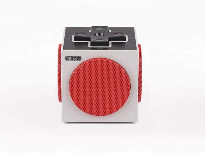 8Bitdo Retro Cube Speaker is inspired by NES controller