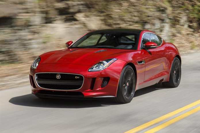 2016 Jaguar F-Type S Coupe manual Review
