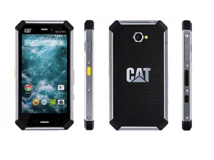 CAT S50C packs a 4.7-inch screen in a dust and waterproof package