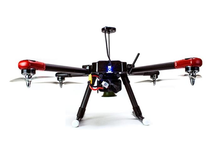 ProHawk UAV is a modern flying scarecrow