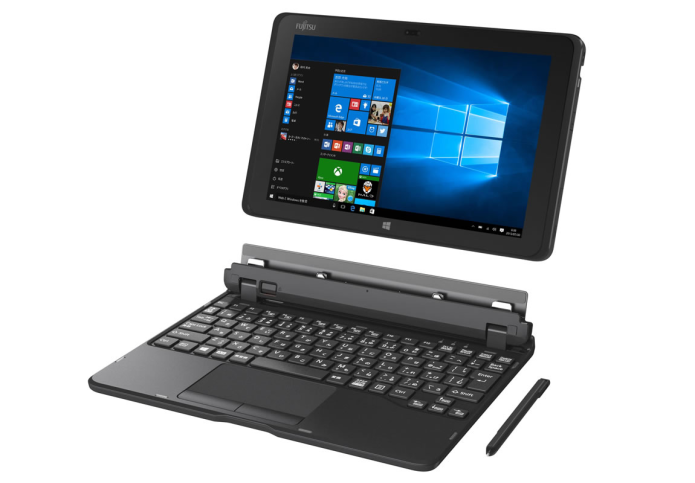 Fujitsu RH77/X and WR1/X tablets are 12.5-inch 2-in-1 tablets