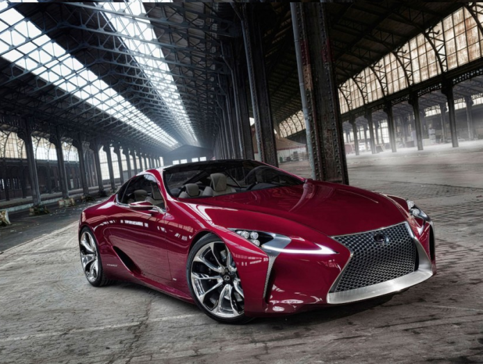 Living Concept: How Lexus made the astonishing LC 500