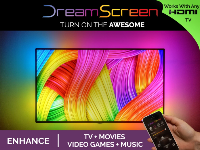 DreamScreen brings DIY backlighting to any TV