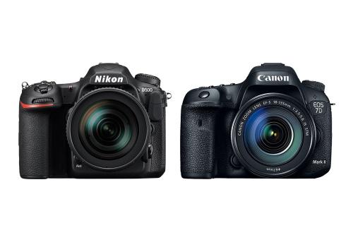 Nikon D500 vs Canon 7D Mark II Specifications Comparison