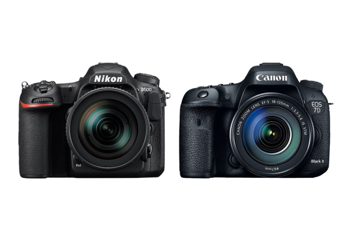 Nikon D500 vs Canon 7D Mark II Specifications Comparison