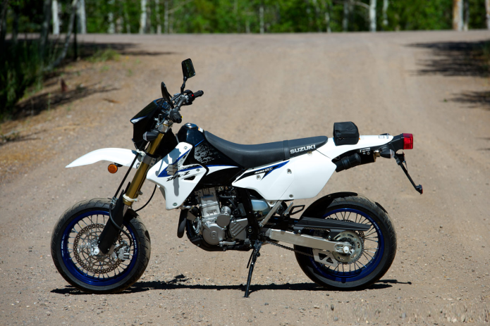 Suzuki DR-Z400SM First Ride Review