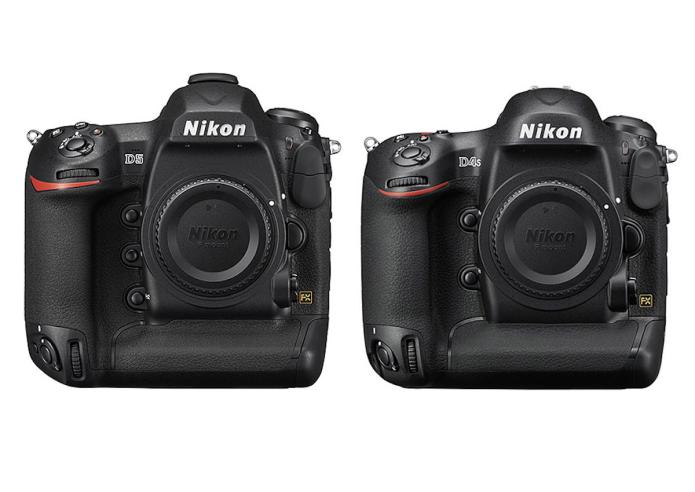 Nikon D5 vs D4s Specifications Comparison