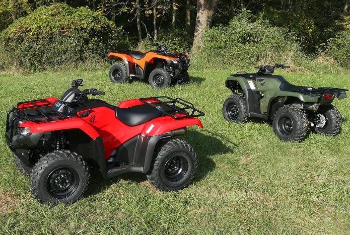 2014 Honda Rancher ATV First Ride Review