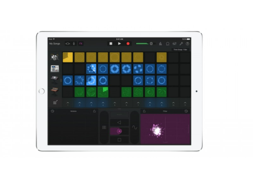 GarageBand 2.1 for iOS adds Live Loops and 3D Touch