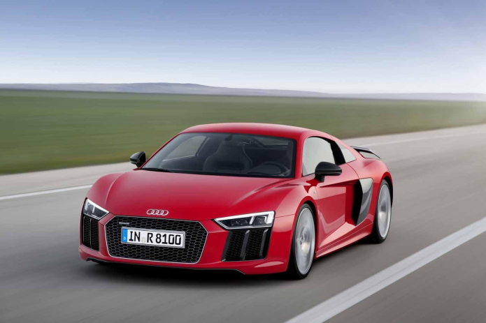 2017 Audi R8, a road car with a racing DNA, gets a price tag