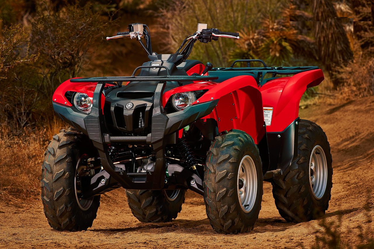 2014 yamaha grizzly 700 fi eps first ride review gearopen