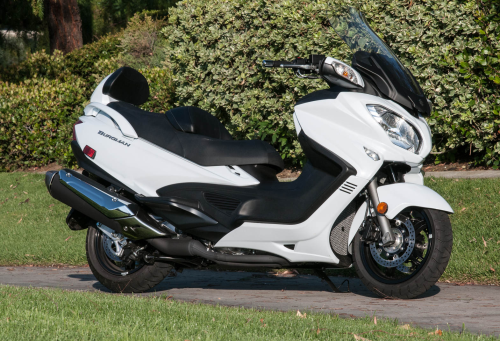 Burgman 650 ABS Scooter First Ride Review