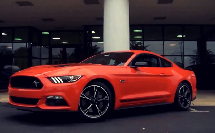 2016 Ford Mustang GT Convertible 5.0 California Special Review