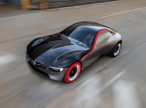Opel GT Concept is as red hot as its tires