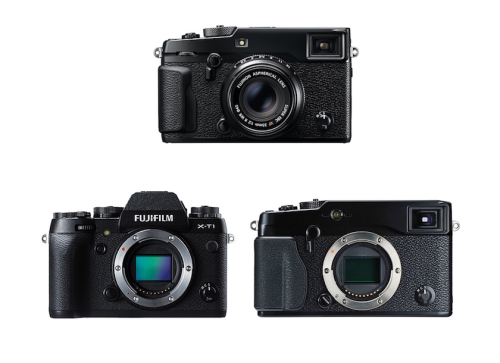 Fujifilm X-Pro2 vs X-T1 vs X-Pro1 Comparison