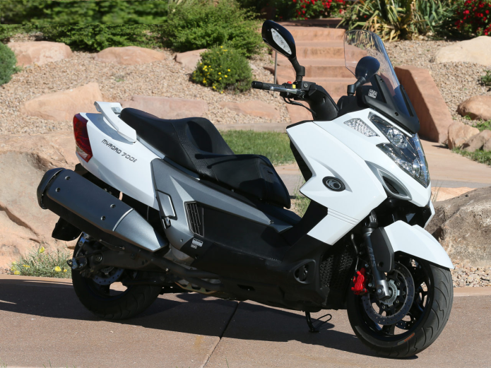 2014 Kymco MyRoad 700i First Ride Review